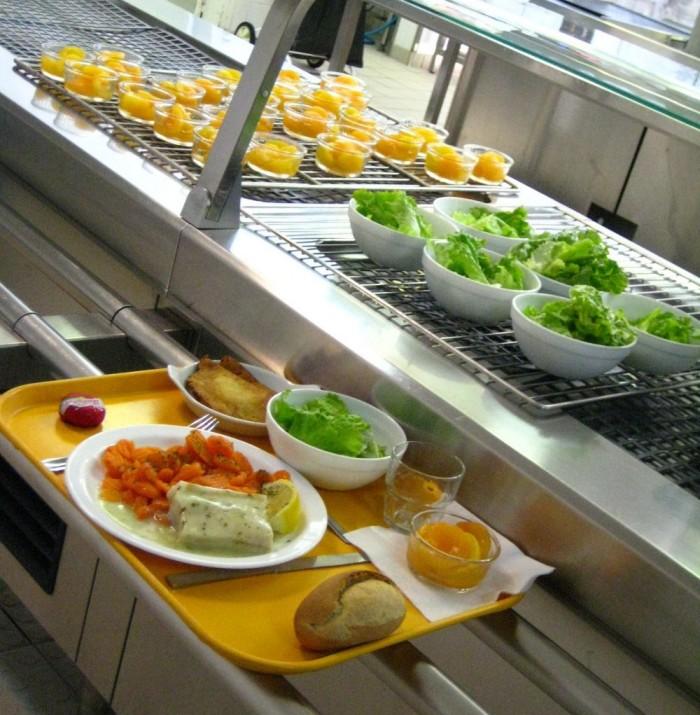 Restaurant scolaire.